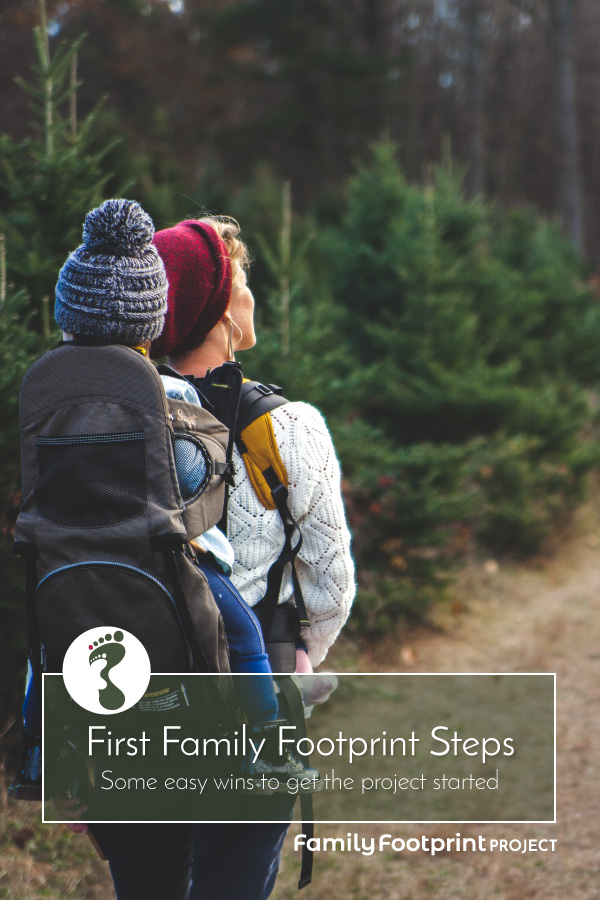 Our First Family Footprint Steps Pinterest Image