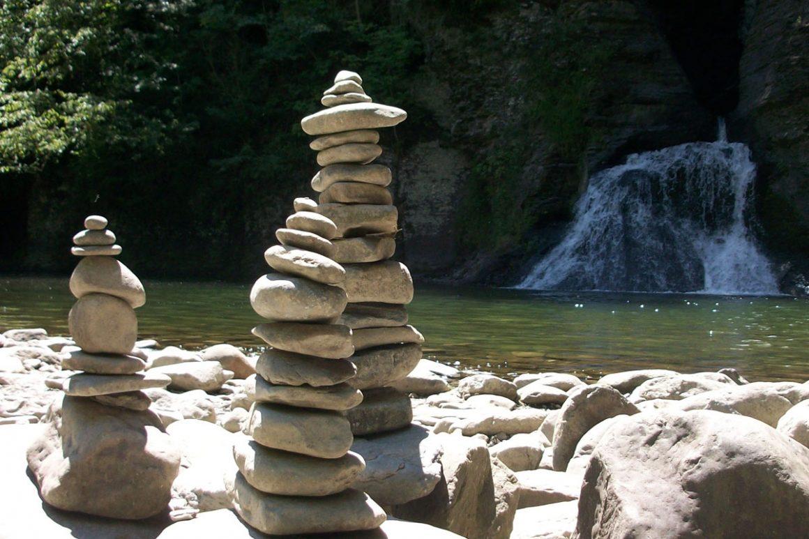 Three Stone Stacks
