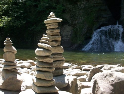 Three Stone Stacks