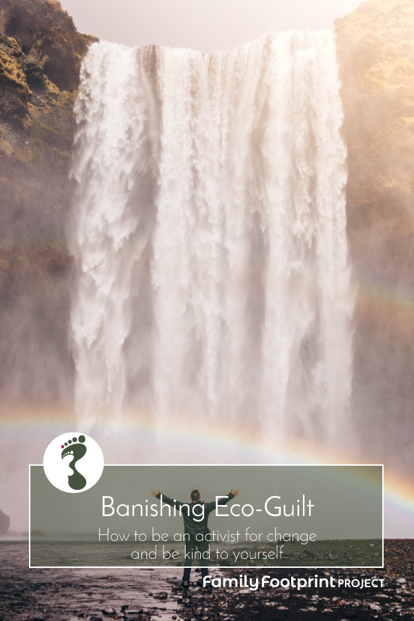 Banishing eco-guilt pinterest image