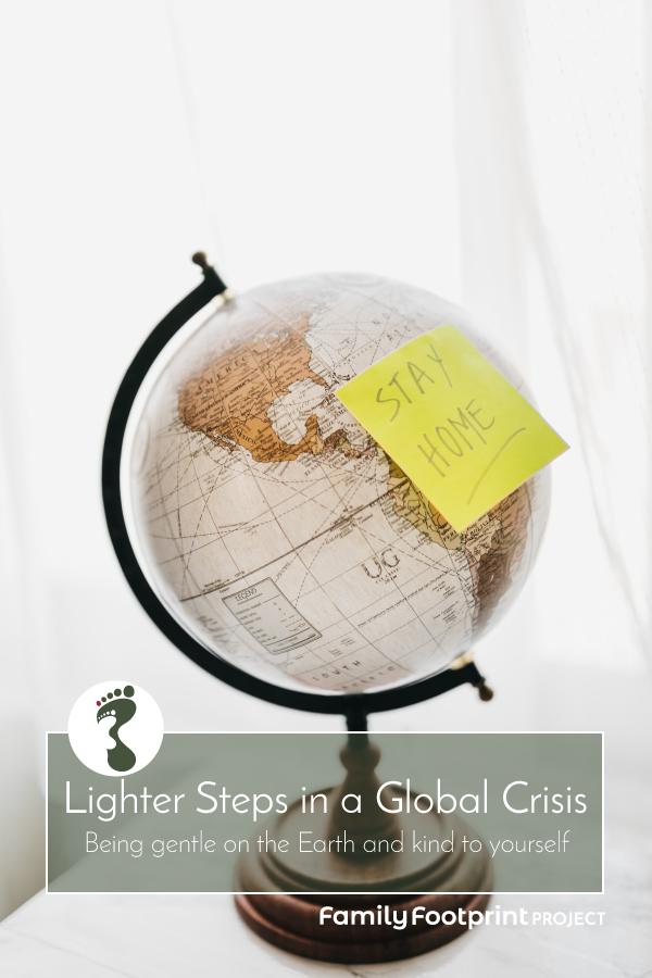 Lighter Steps in a Global Crisis Pinterest Image