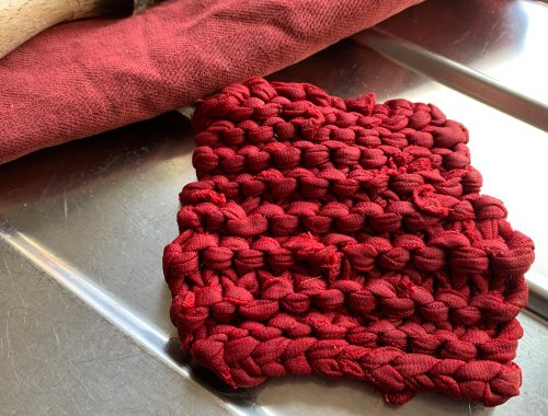 How To Make Knitted Dish Scourer