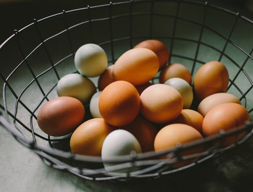 Ways to use up eggs
