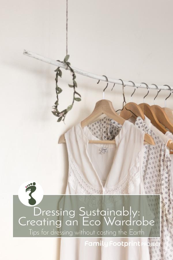 Dressing Sustainably Pinterest Image