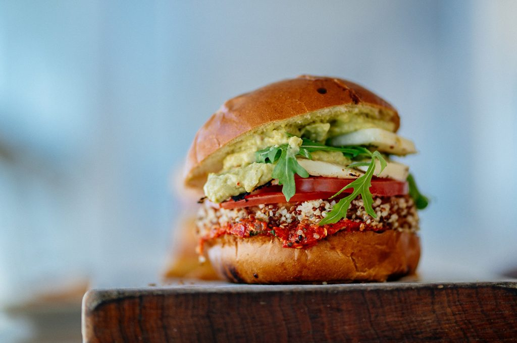Vegetable Burger in Flexitarian diet