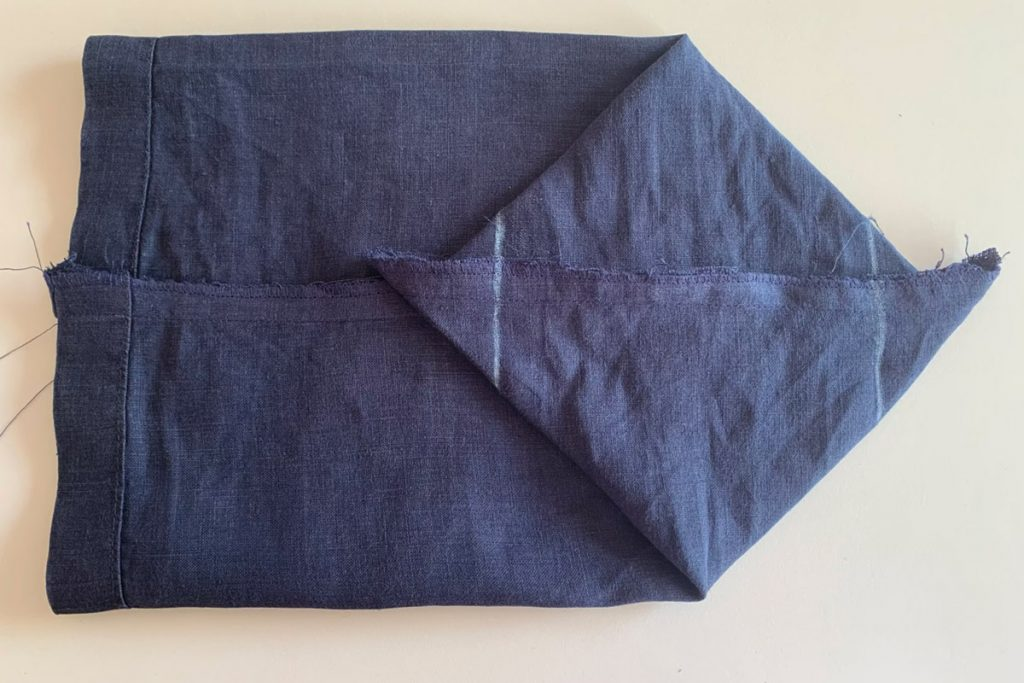 Make reusable fabric gift bag